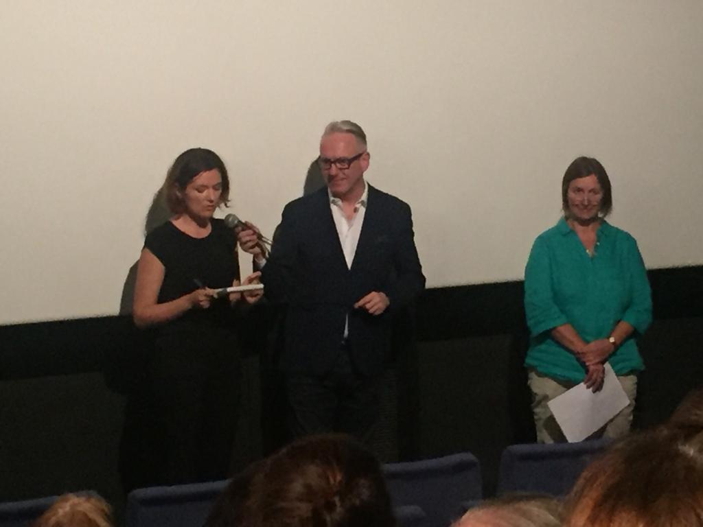 Konsekutivdolmetschen beim Podiumsgespräch mit Mariusz Szczygieł im Rio-Filmpalast, München